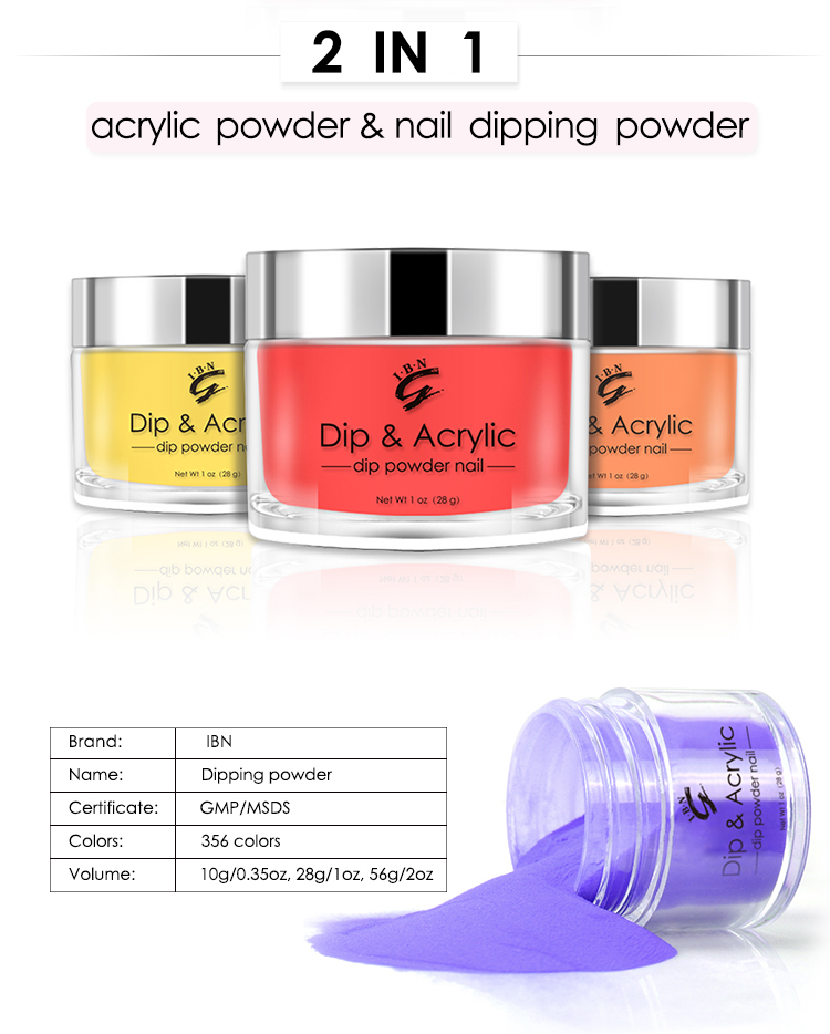 2019 Private Label Dip Gel Base Manicure Dipping Nail Powder And Liquid For Nails