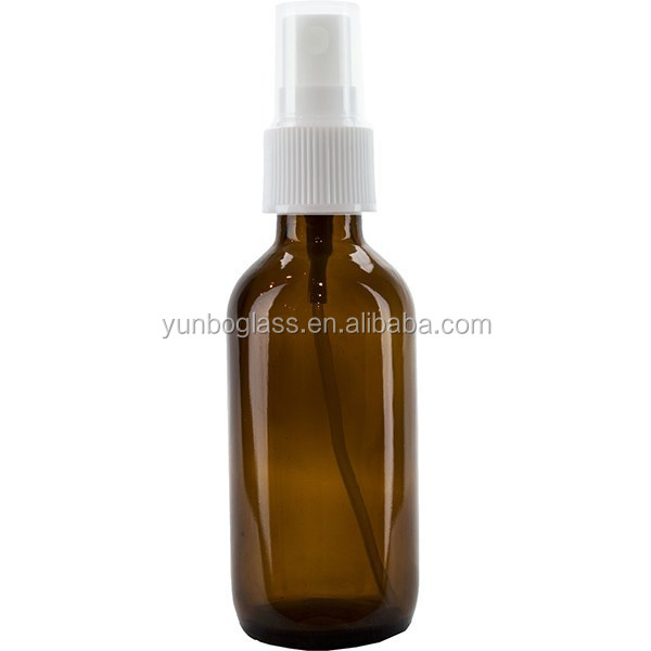 60ml empty spray screw top glass bottle for essential oil