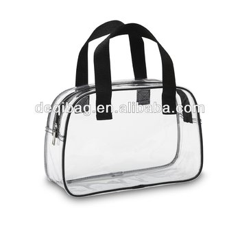 Basic Clear Work Handbag / Clear Purse PVC Tote Bag For Women Large Capacity Bag Hot Sale 2019 Online Shipping China Suppliers