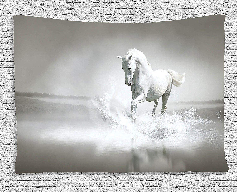 Buy Custom Animal Decor Decoration Horse Running Through Water