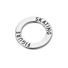 Gros stock alliage 2016 hiver patinage patinage artistique bague charme