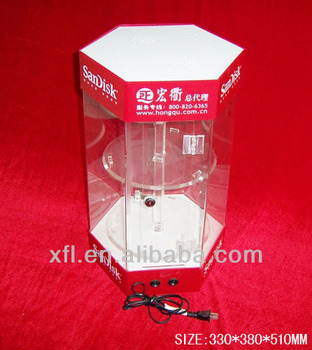 Fancy Round Acrylic Display Case/cabinet,Acrylic Doll Display Case ...