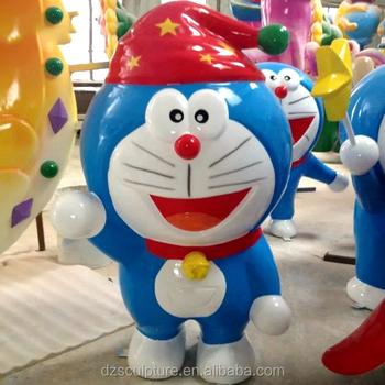 japanese anime cute fiberglass cartoon doraemon statue buy movie