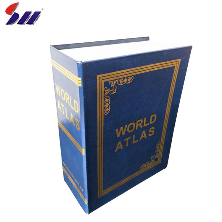 Direto da Fábrica mais popular casa de papel duro caixa formato de livro seguro desvio secreto