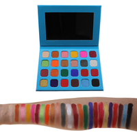 professional makeup eyeshadow private label make your own brand eyeshadow palette customized color eyeshadow palette