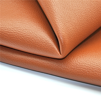 waterproof Flame retardant artificial synthetic pu leather fabric for bag shoe sofa