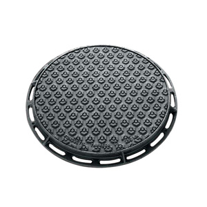 850mm double seal cast iron manhole cover moulding machine