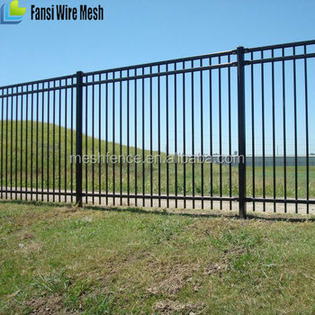 Arched wrought iron fence designs with spear picketsgardenvilla arched wrought iron fence designs with spear pickets gardenvilla steel fence security workwithnaturefo