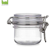 PET Kunststoff <span class=keywords><strong>Kilner</strong></span> Stil <span class=keywords><strong>Gläser</strong></span> | Runde Klar Acryl Lagerung Container