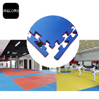 Melors OEM EVA Foam Floor Exercise Mat Martial Arts Taekwondo Used Wrestling Tatami Puzzle EVA Foam GYM Mats For sale
