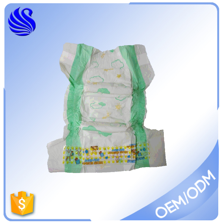3D Leak Prevention Channel Anti-Leak and Cotton Material Korean Baby Diaper