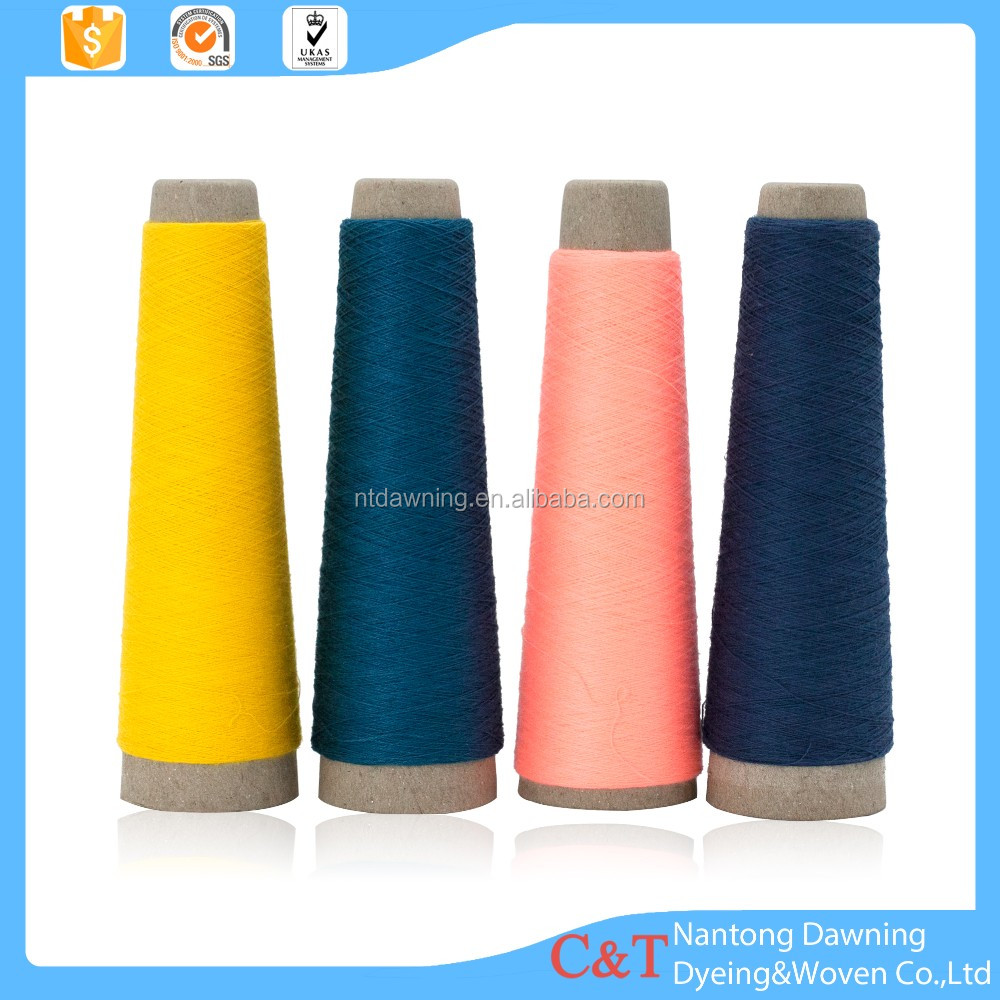 online shopping china 20S/2 cotton /acrylic blended dyed yarns knitting