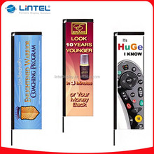Outdoor aluminium flagpole for advertising