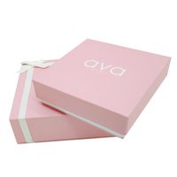 Wholesale fashion luxury custom branded velvet paper wedding jewelry gift box packaging