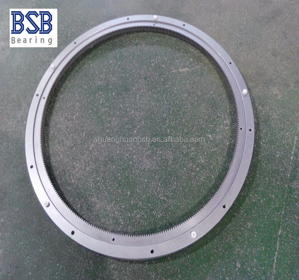 "600mm/24"" low noise Aluminium Lazy Susan bearing with teeth"