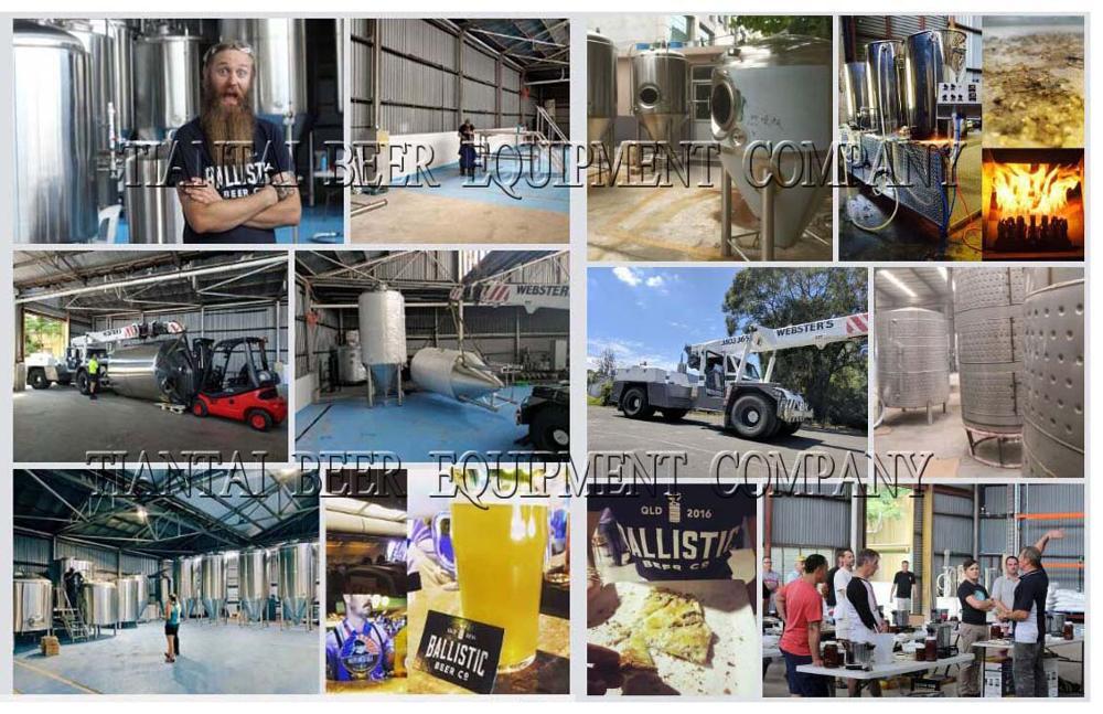 Nano bier productie machine 200l pilot fermenteren apparatuur thuis brouwen systeem