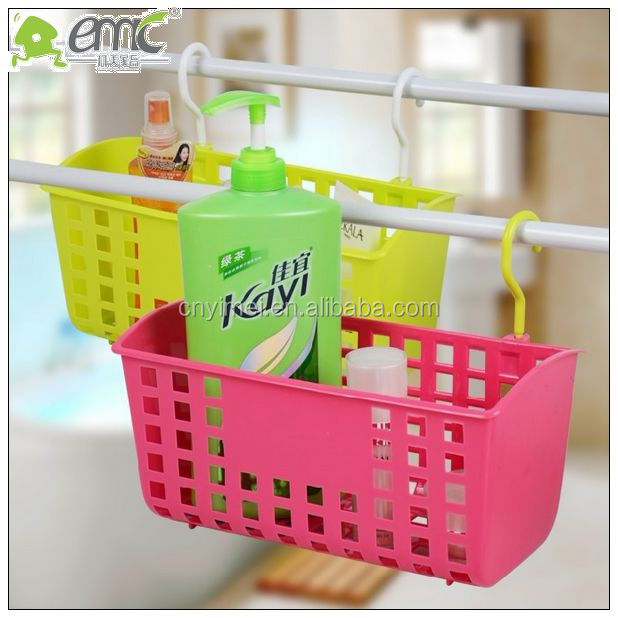 Emc Hook Hanging Plastic Basket,colored Storage Baskets