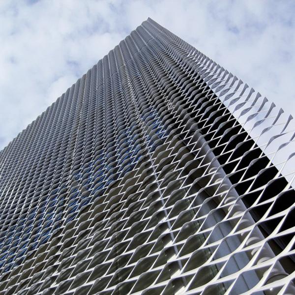 Alibaba Expanded Metal Mesh Door Security Steel Mesh