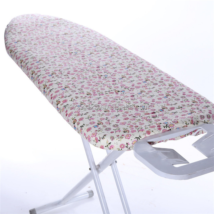 Wholesale Heat resistant new design folding ironing board cover iron board cover