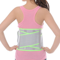 adjustable back brace KANGDA New waist support brace sleeve for sport protector with CE,ISO corset