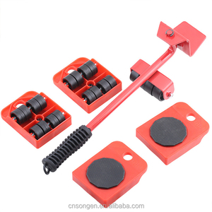 Furniture Lifter And 4 Pcs Mover Rollers Heavy Furniture Roller Move Tools