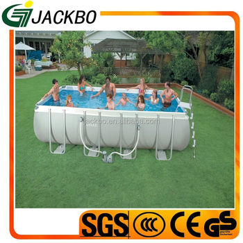 Promotional Large Outdoor Plastic Swimming Pool With All Accessories