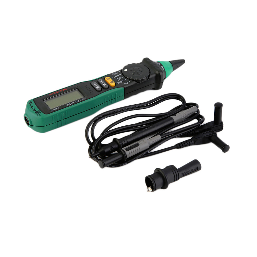 New Pen-type Mastech Digital Multimeter Manual/Auto Range Logic Level Test Brand New