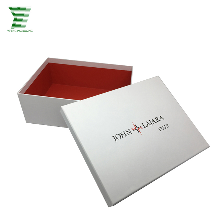 High Quality Printing Custom Made hat packaging box square for shoes