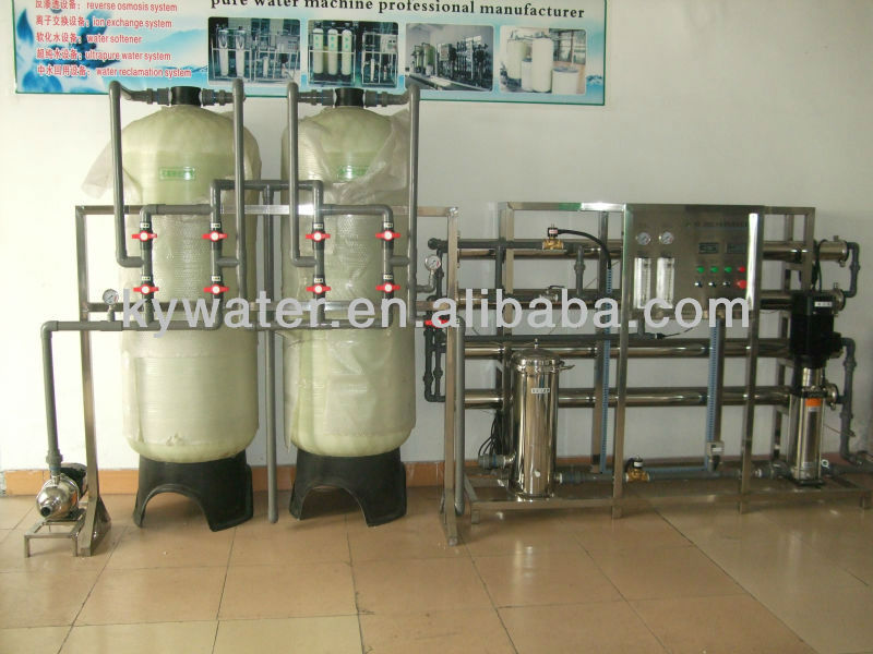 purification of artesian bore water