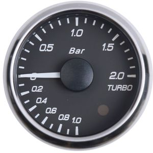 52mm LED boost gauge with double color backlight