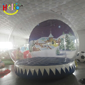 inflatable christmas snow globe human size inflatable dome snow globe
