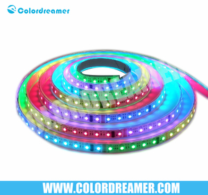 Programmable controller waterproof rgb dmx strip led light