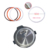 Amazon hot sales high quality  silicone pressure cooker sealing rings