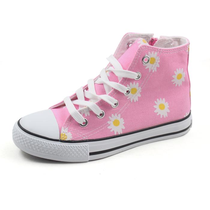 Girls Canvas High Cut Shoes,Kids Casual