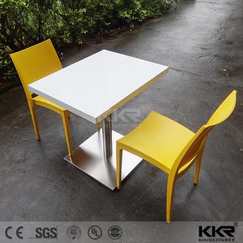 Kingkonree Fashion Design Round Marble Slab Table Top