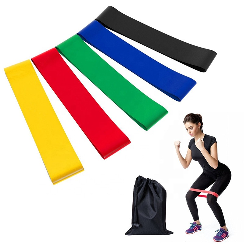 Gewichtsverlies Latex Workout Oefening Yoga Fitness Pull Cirkel Weerstand Bands