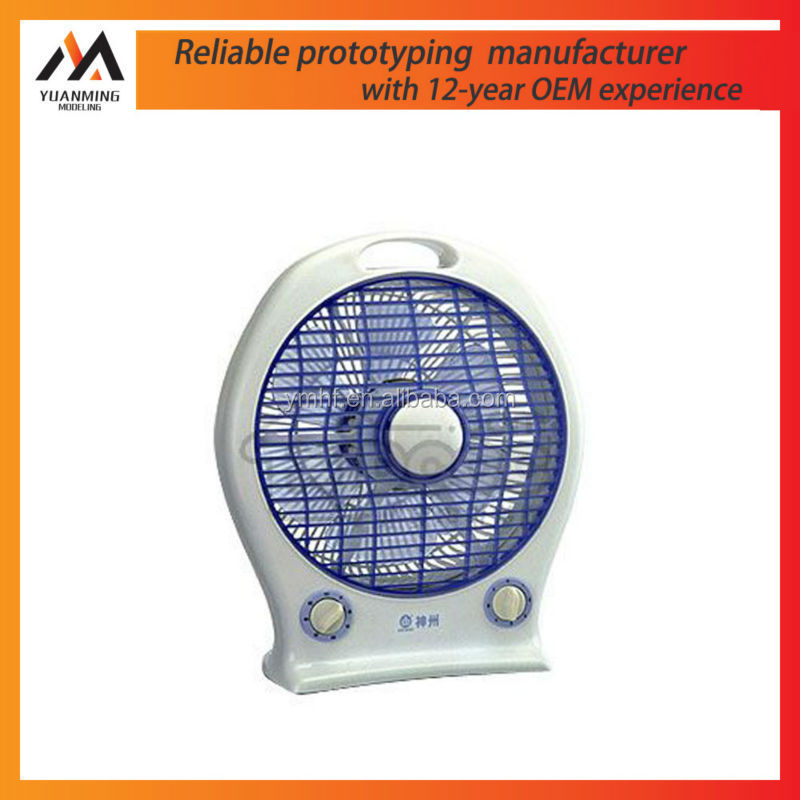 3 Speeds electrical cooling high quality table fan prototype