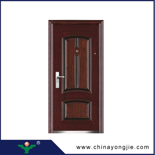 Hot Sale High Quality Security Wrought Iron Front Doorturkey Steel