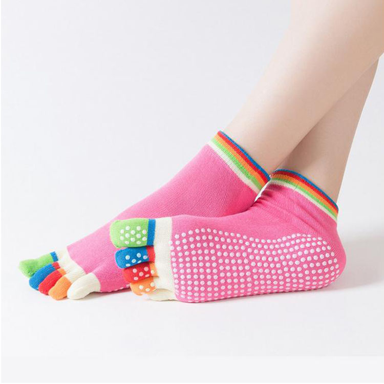 All Kinds Of Dissimilarity Fashion Thick Warm Knit Adults Toe Socks