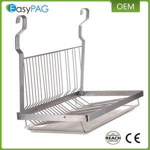 Hot Sale Kitchen Dish Drying Rack Drainer Tray Cutlery Holder Organizer