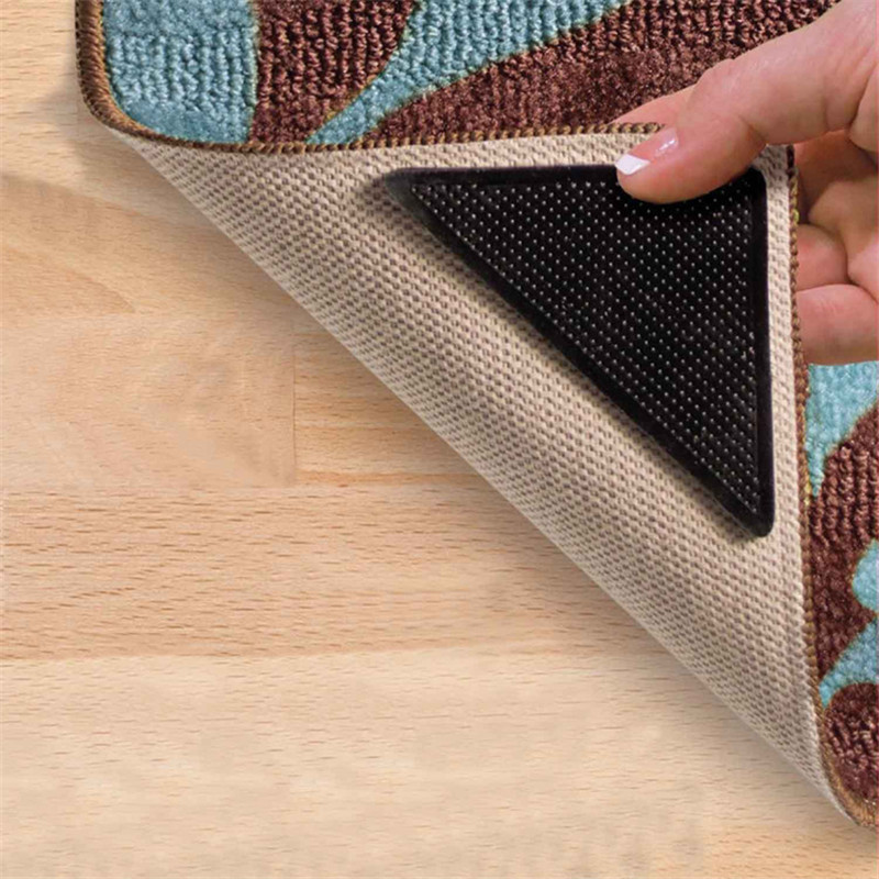 8pcs 4pair Anti Slip Carpet Mat Rug