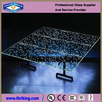 Thriking Charming Laminated Glass Table-tops for Promotion