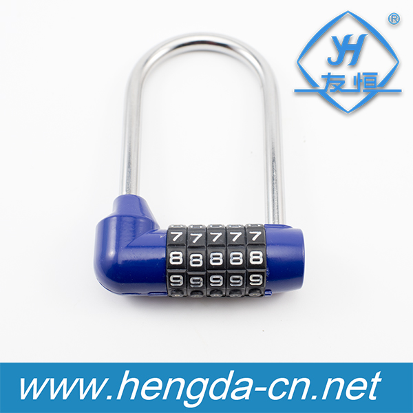 1pc Carabiner Padlock lock Travel Security Luggage Bag Suitcase Password Lock HF