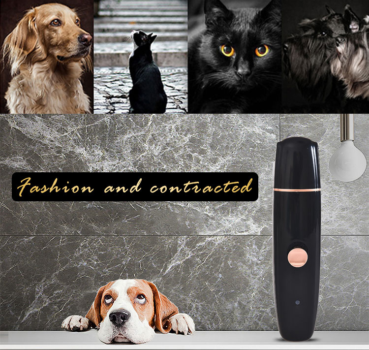 New Arrival Latest Design Electric Pet Nail Grinder Rechargeable