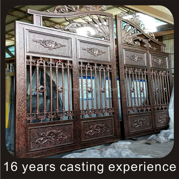 Swing Open Style Swing Cast Aluminum Gates Luxury Wrought Iron Electric Retractable Door Buy Swing Gatecast Aluminum Gateluxury Wrought Iron Door