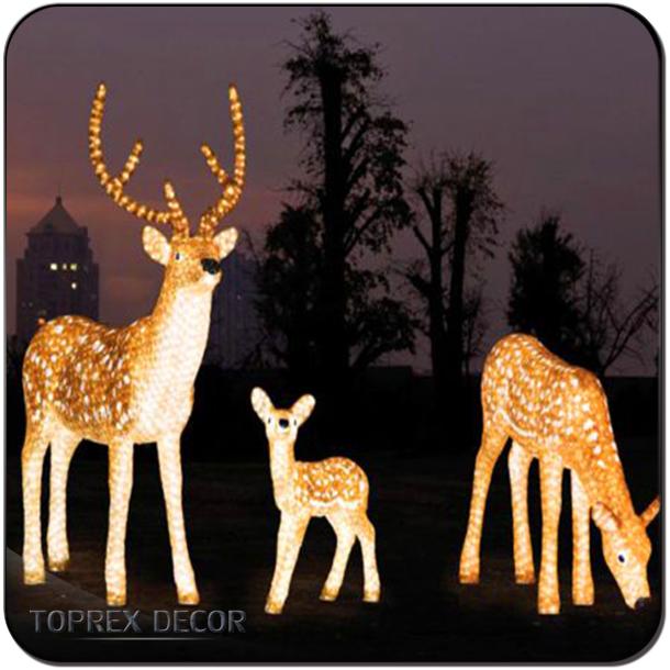 Christmas Decoration Christmas Lights Reindeer LED Outdoor - Christmas Decoration Christmas Lights Reindeer Led Outdoor - Buy