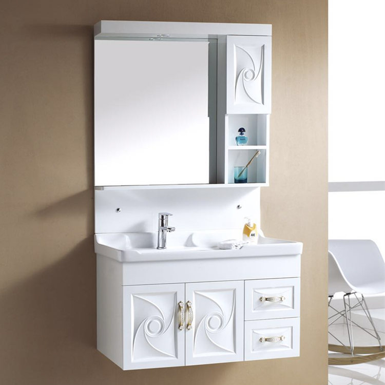 Fashion new design pvc cabinet for bathroom with good price