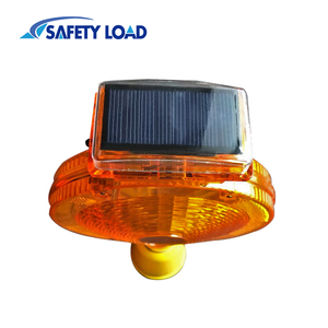 Solar LED Signal Light for Traffic Cone