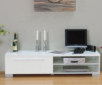 White High Gloss Mdf Tv Stand/living Room Furniture - Buy Mdf Tv  Stand,White Lacquer Tv Stand,Tv Stand Furniture Wooden Product on  Alibaba.com