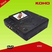 inbuilt Panasonic DVD combo USB SD CARD AV IN portable av recorder